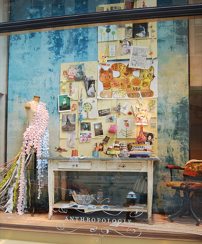 Anthropologie stores luxury inspiration for my jewel designs for Anthropologie store decoration ideas