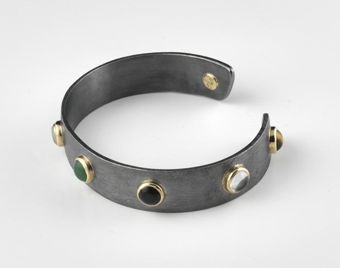 elajoyas, silver bracelet, stone jewelry, unique jewelry, gemstones
