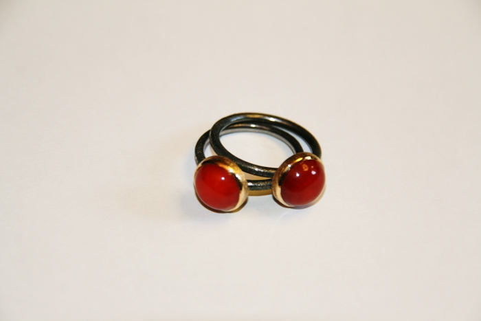 elajoyas, coral ring, coral necklace, coral earring, coral jewelry, stone jewelry, unique jewelry