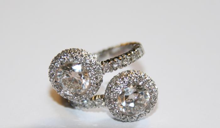elajoyas, diamond ring, luxury diamond ring, exclusive brilliant ring, art jewelry, jewelry transformation