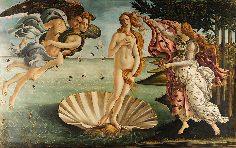 Botticelli and venus