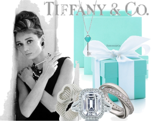 Tiffany llaves, elajoyas